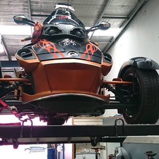 Spyder Vamp Vehicle Repair